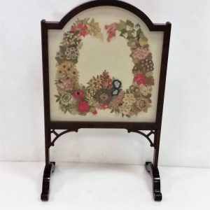 Antique Edwardian Fire Screen