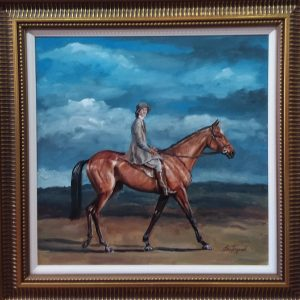 Oil on Board John Fitzgerald