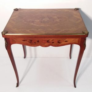 Antique Style Ormolu Games Table Table