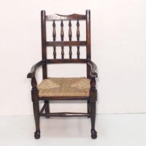 antique style child chair