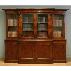 Antique Bookcases and Desks