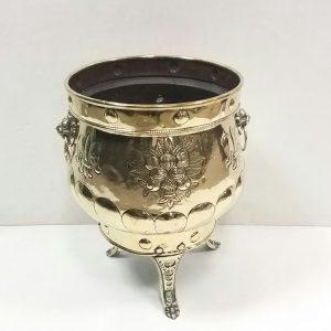 Victorian Brass Jardanier
