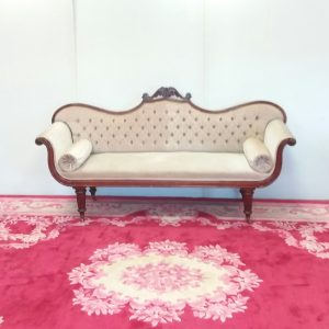 Antique Victorian Rollback Couch