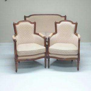 Antique Style Parlour Suite