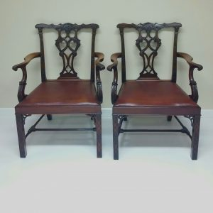 Antique Style pair of Carvers