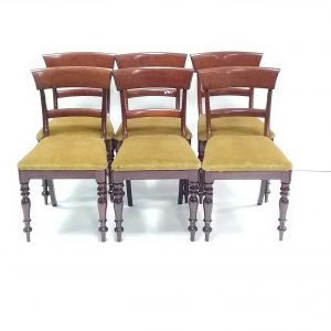 Antique Set of 6 Victorian Dining Chairs