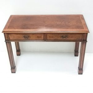 Antique Style Burr Walnut Console Table