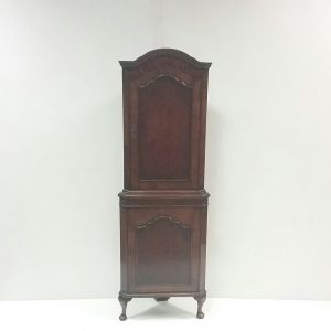 Antique Edwardian Miniature Corner Cabinet