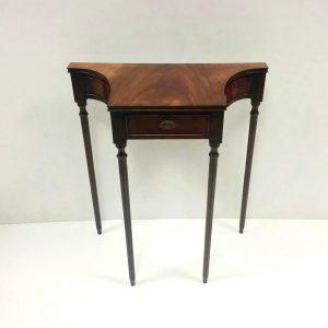 Antique Style Miniature Console Table