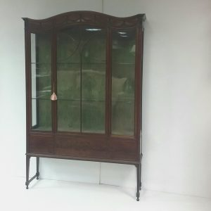 Antique Edwardian Mahogany Display Cabinet.