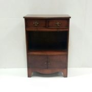 Antique Style Miniature Bookcase