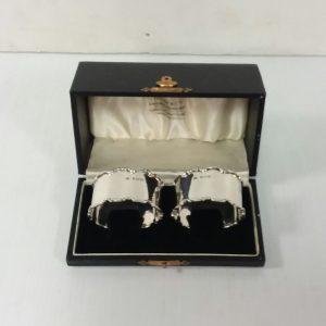 Birmingham Solid Silver Napkin Rings