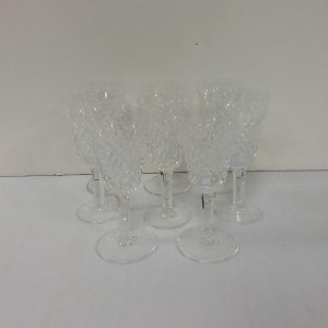 Set of 8 Waterford Crystal Glasses