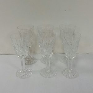 Set of 6 Waterford Crystal Glasses