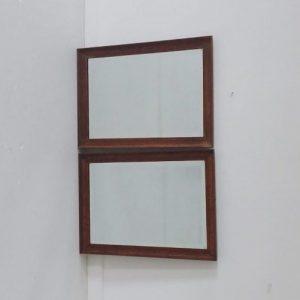 Pair of Oak Mirrors