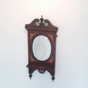 Antique Victorian Hall Mirror