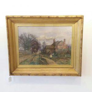 Antique Victorian Watercolour