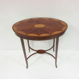 Antique Edwardian Inlaid Table