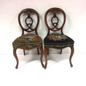 Antique Victorian Pair of Chairs