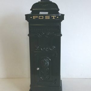 Aluminium Mail Box Green