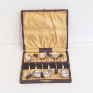 Antique Edwardian Solid Silver Spoons