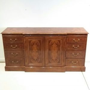 Antique Style Breakfront Sideboard
