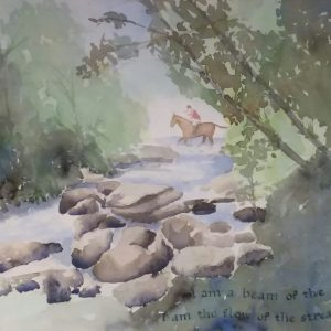 Watercolour by Ann O Cleary