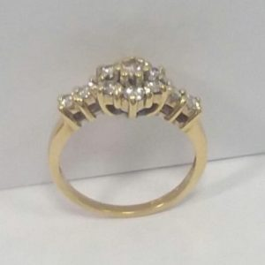 18ct Diamond Ring 1ct of Diamonds
