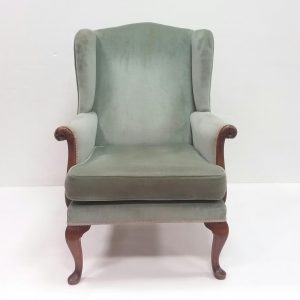 Antique Style Wingback Armchair