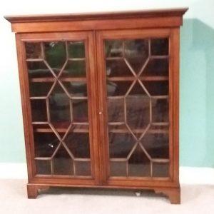 Antique Edwardian Miniature Floor Bookcase