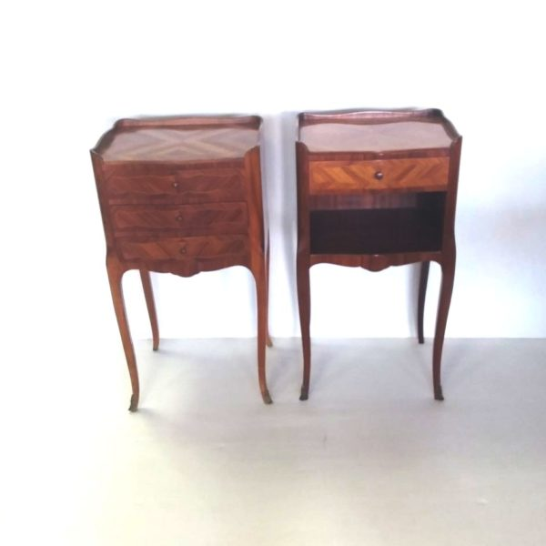 Antique Stlye French Kingswood Night Stands