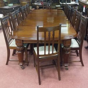 Antique Victorian Dining Room Table