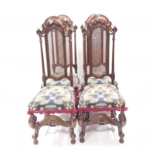 Antique Edwardian Set of 4 Dining Chairs