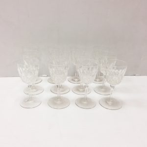 12 Sherry Glasses