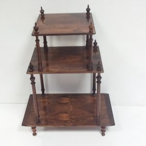 Antique Victorian 3 Tier Whatnot