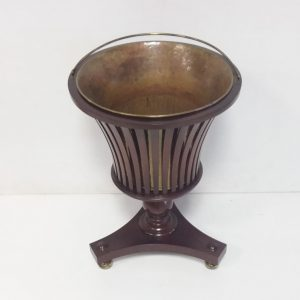 Antique Edwardian Style Mahogany Planter