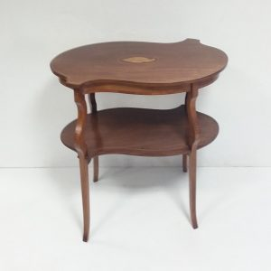 Antique Edwardian Mahogany Sidetable