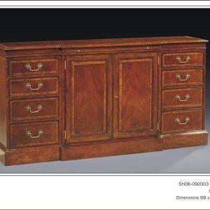Antique Style Mahogany Sideboard