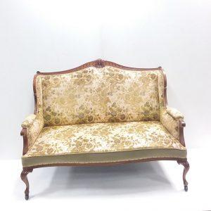 Antique Victorian Walnut Couch