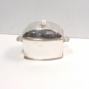 Silver Plated Tea Caddy