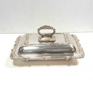 Silver Plated Decorative Vegetable Dish
