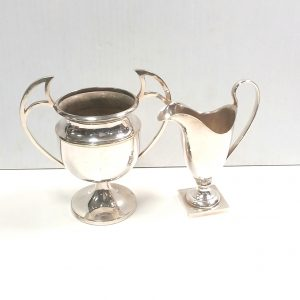 2 Pieces of Silver Plate