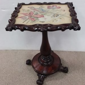 William_IV_Period_Rosewood_Tapestry_Table