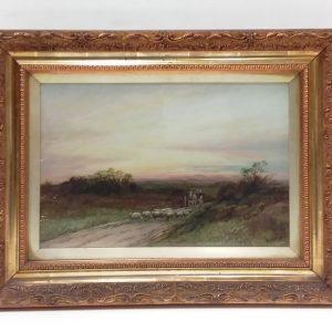 Oil_on_Canvas_Gilt_Framed