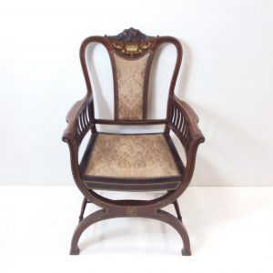 Antique_Edwardian_Inlaid_Armchair