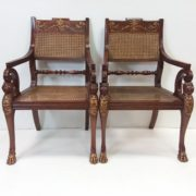 Pair_of_Mahogany_and_Gilt_Bergere_Armchairs