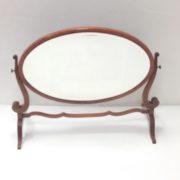 Edwardian Crutch Mirror