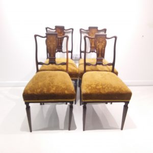 Antique_Edwardian_Set_of 4_Chairs