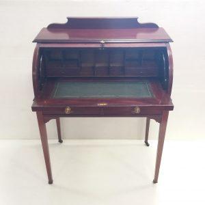 Antique_Edwardian_Cylinder_Desk