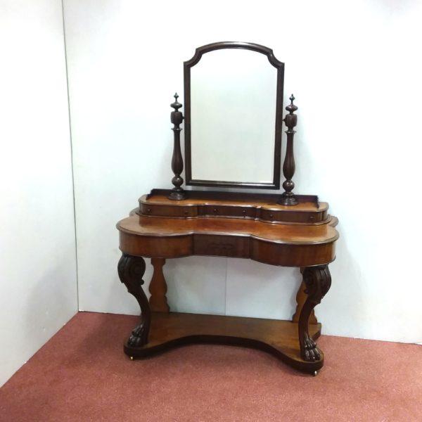 Antique Victorian Mahogany Dressing Table